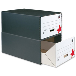 5 Star Office Archive Storage Drawer